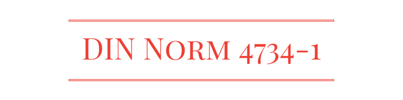 din-norm 4734