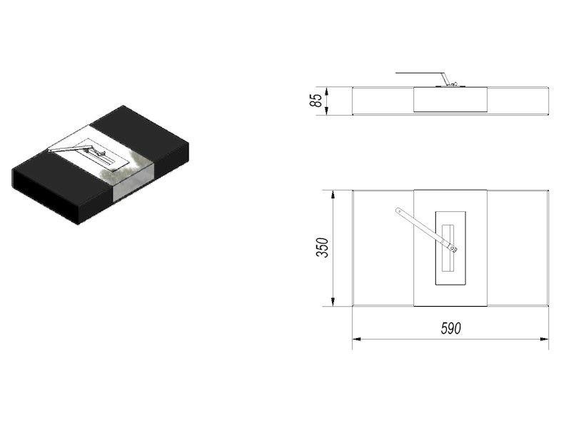 bio ethanol kamin taranto. Black Bedroom Furniture Sets. Home Design Ideas