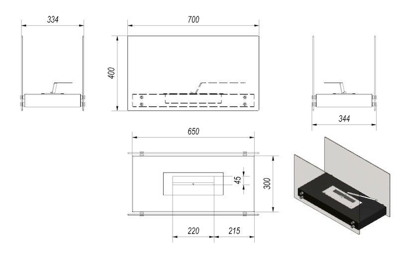 bio ethanol kamin roma. Black Bedroom Furniture Sets. Home Design Ideas